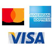 Sus clientes pueden pagar  con todas las tarjetas de crédito